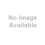 White bauble with pencil/yellow village scene 80mm